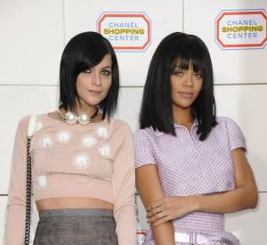 Leigh Lezark et Rihanna hyper complices.