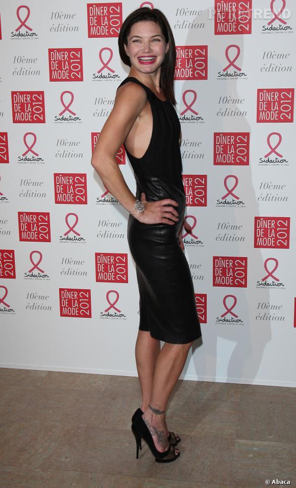Abbey Clancy Fashion Week
