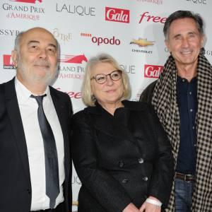 Josiane Balsako avec Gérard Jugnot et Thierry Lhermitte du Splendid.