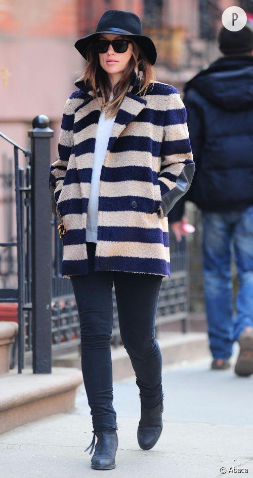 Olivia Wilde, enceinte et sexy le jour de ses 30 ans, le 10 mars 2014.