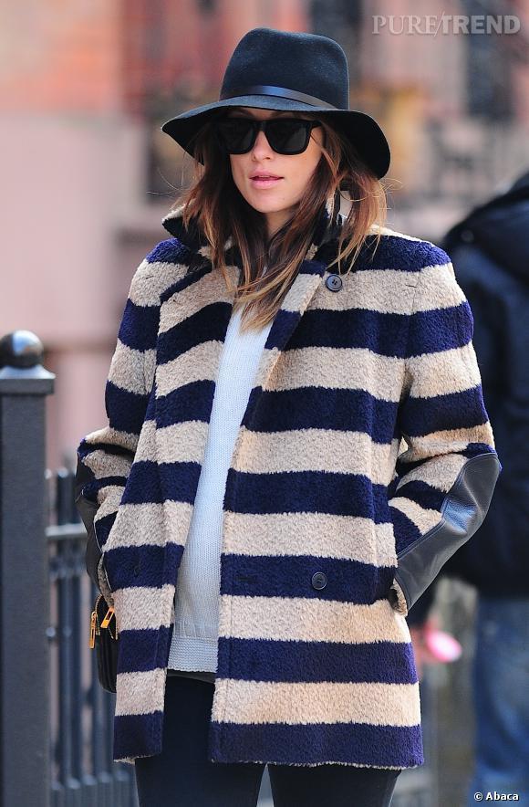Olivia Wilde, une star mode et lumineuse à quelques semaines de son accouchement.