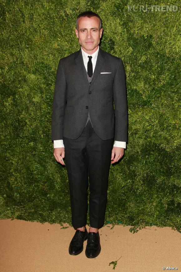 Tom Browne, nominé dans la catégorie du Meilleur créateur prêt-à-porter masculin aux CFDA 2014.