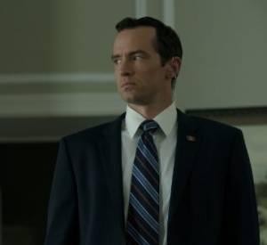 Edward Meechum (Nathan Darrow) : Qui est le mieux placé pour connaître toute l'intimité des Underwood que leur garde du corps et chauffeur ?