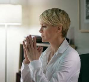 Claire Underwood (Robin Wright) : La femme de Frank aura un rôle clé lors de la saison 2 en dévoilant une terrible partie de son passé. Elle aussi monte les échelons avec avidité, abandonnant certains de ses rêves pour rester aux côtés de son mari.