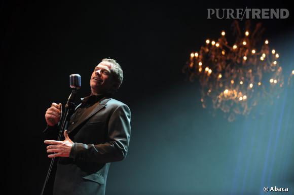 Garou lors d'un concert à Genève le 19 novembre 2010.
