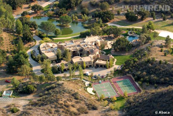 Will smith et jada pinkett smith poss dent une villa 42 for Maison will smith