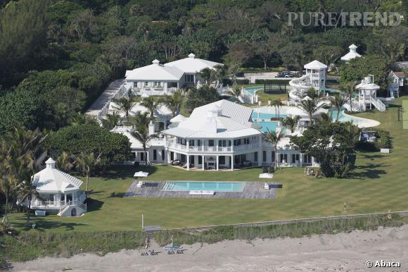 l 39 impressionnante villa de c line dion jupiter island en