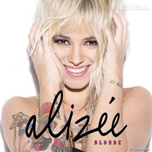 Alizée, blonde pour son nouveau single.
