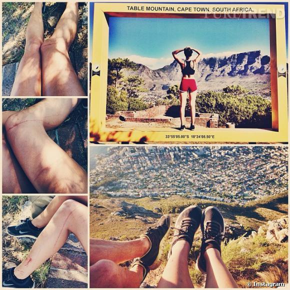 Shy'm en plein road trip en Afrique du Sud, elle partage les beaux paysages mais aussi ses nombreuses égratignures !