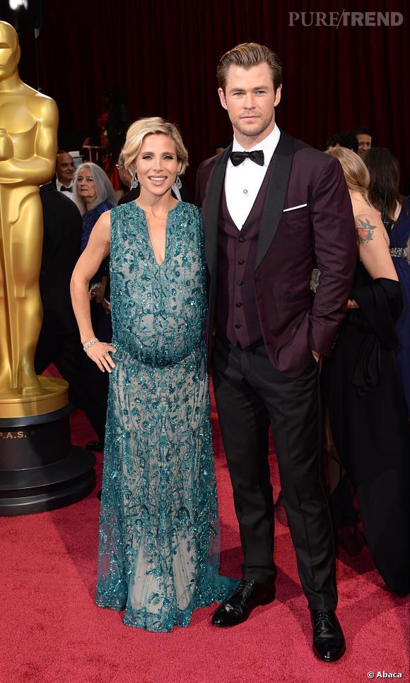 Elsa Pataky et Chris Hemsworth ont attendu janvier 2014 pour confirmer qu'ils attendaient des jumeaux.