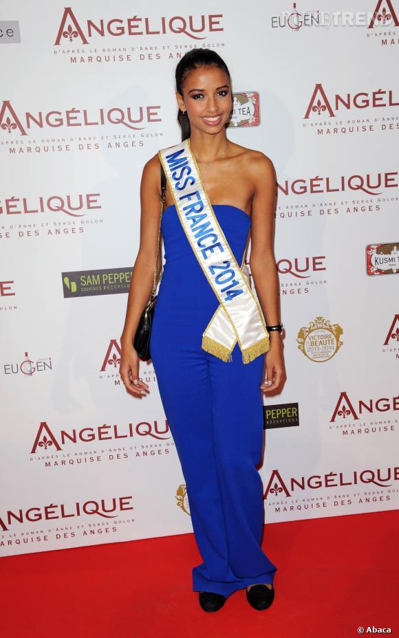 Flora Coquerel, une Miss France 2014 discrète et mode.