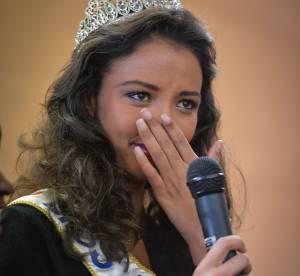 Flora Coquerel, Miss France 2014, les sanglots émouvants d'une reine de beauté