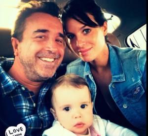 Jade Foret, Arnaud Lagardère et leurs adorables filles !