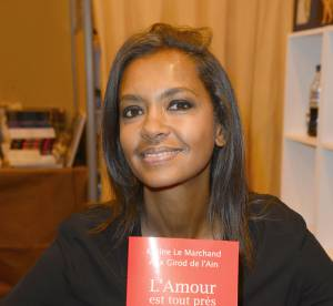 Karine Le Marchand et Lilian Thuram : on a frôlé le drame au Salon du Livre 2014