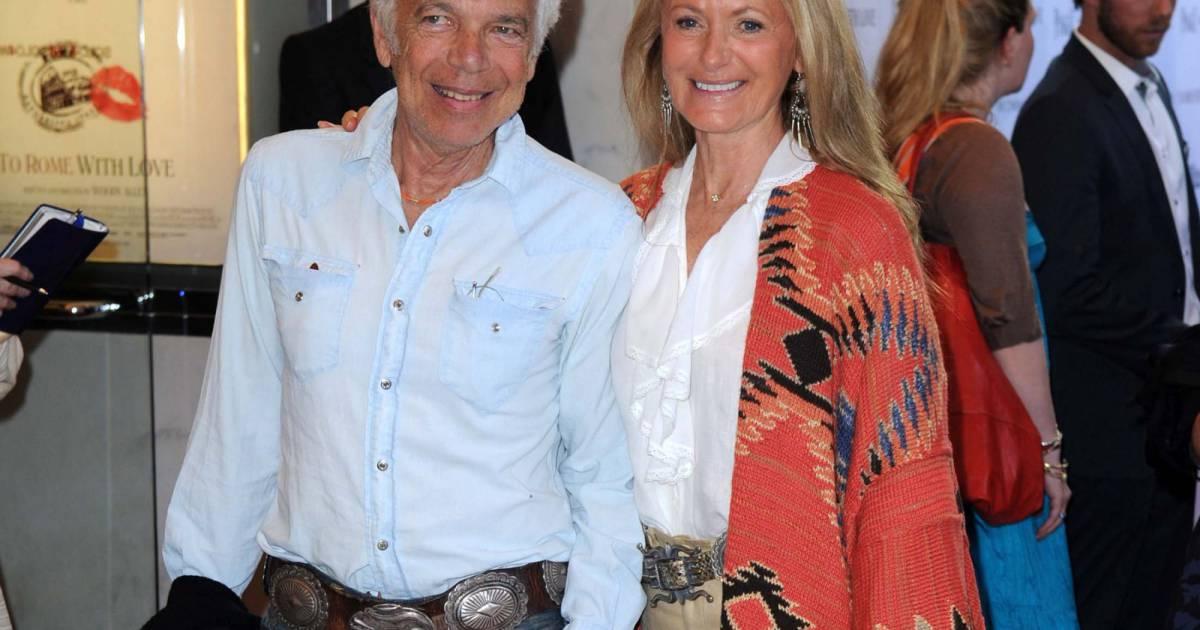 Ralph Lauren et sa femme Ricky