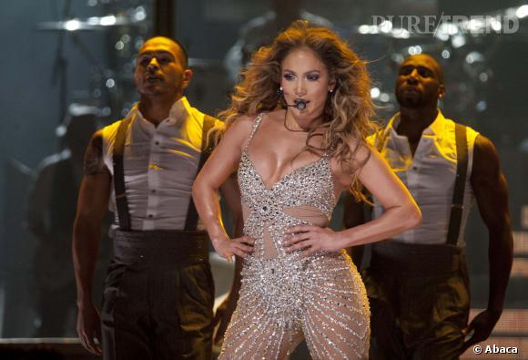 Jennifer Lopez ! Ici en concert à Madrid en octobre 2012.