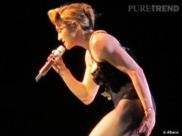Madonna bien évidemment ! Madonna en concert à Buenos Aires en décembre 2012.