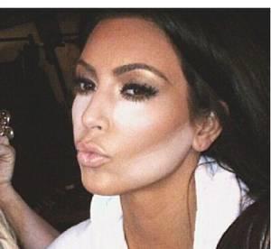 Kim Kardashian : l'accro au contouring fait le clown sur Instagram