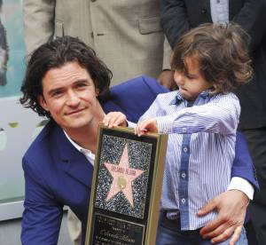 Orlando Bloom et son fils Flynn : adorable duo père-fils sur le Walk of Fame