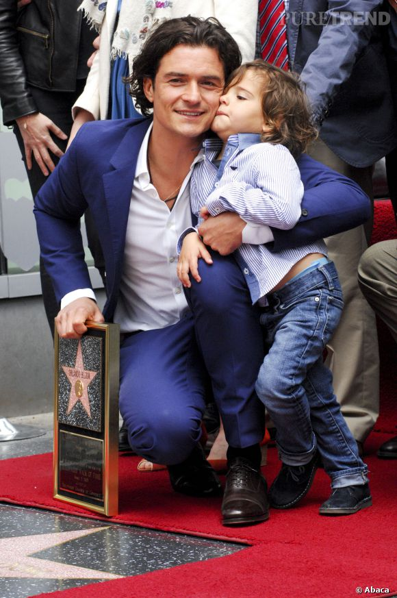 Orlando Bloom et son fils Flynn sont adorables !