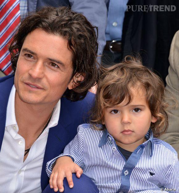Flynn est le portrait craché de son père Orlando Bloom !