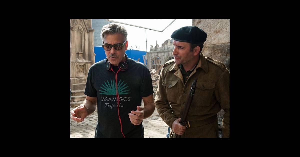 Jean dujardin sur le tournage de monuments men for Dujardin inde