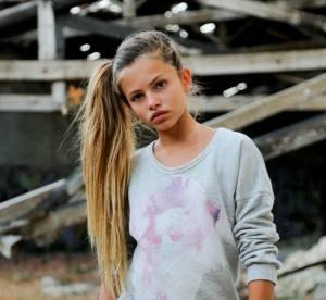 Thylane Blondeau : la fille de Véronika Loubry devient égérie Swildens teen