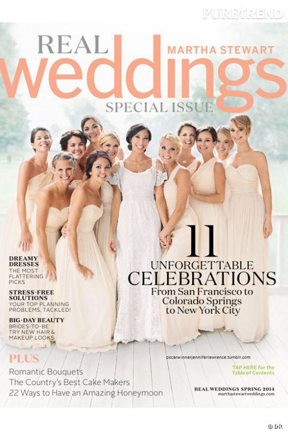 Jennifer Lawrence, magnifique demoiselle d'honneur pour le mariage de son frère.