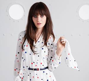 """To Tommy From Zooey"", le style preppy de Zooey Deschanel par Tommy Hilfiger"
