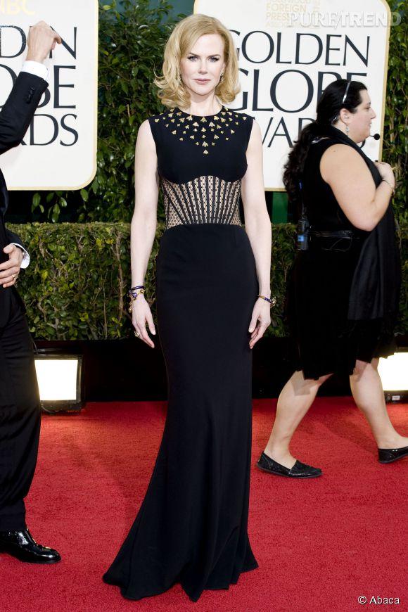 Nicole Kidman sexy en robe esprit guêpière