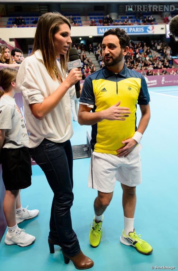 """Laury Thilleman, après son poste de journaliste sportive pour Eurosport elle sera propulsée en actrice du petit écran sur TF1, pour """"Alice Nevers""""."""