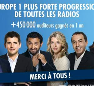 Laurent Ruquier, évincé de la photo promotionnelle d'Europe 1.
