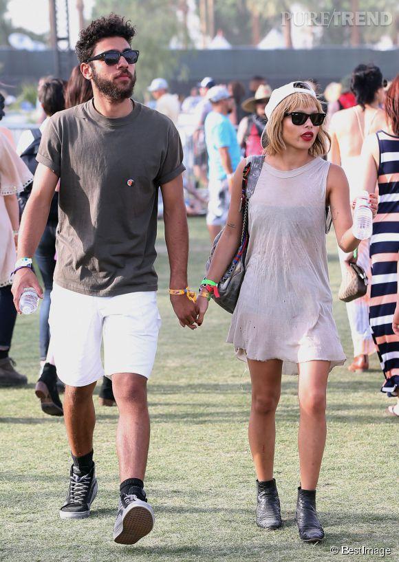 Coachella 2014 : Zoé Kravitz, un changement de tête... et ... Zoe Kravitz Boyfriend 2014
