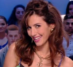 Doria Tillier est la coach d'amour avec Marie Crystal lors de sa météo du Grand Journal du 13 février 2014 sur Canal+.