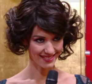 Doria Tillier se transforme en Fanny Ardant lors de sa météo du Grand Journal du 28 février 2014 sur Canal+.