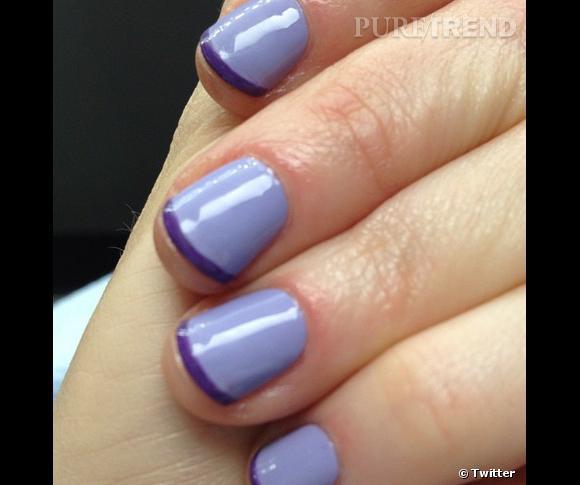 La manucure violette de Zooey Deschanel nous fait rêver, mais mieux vaut prendre soin de ses ongles avant de succomber.