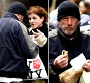 Richard Gere, confondu avec un SDF à New York par une touriste française