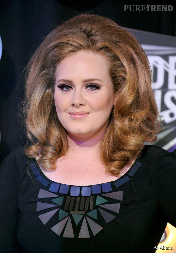 Adele et son brushing XXL de diva.