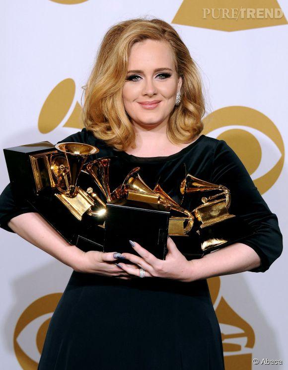 Adele fête ses 26 ans aujourd'hui.