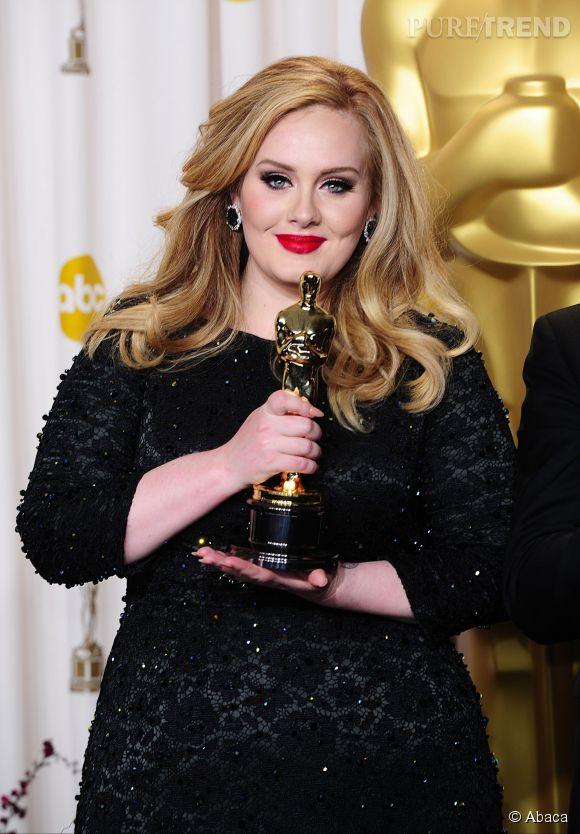 """Adele, oscarisée pour la bande-annonce de """"Skyfall""""."""