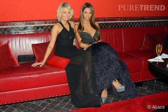 Nabilla et Caroline Receveuren 2013.
