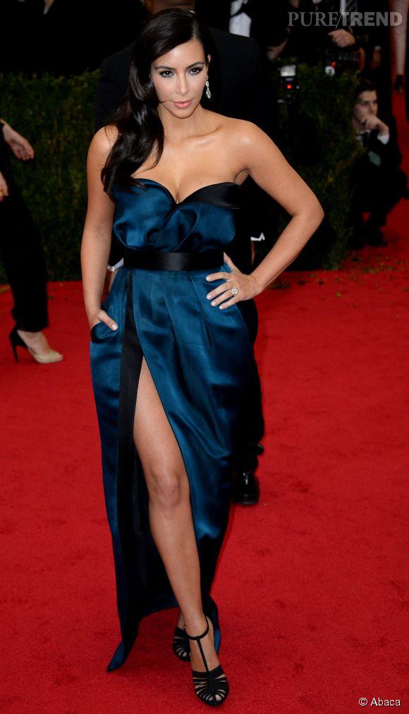 Kim Kardashian au MET Ball 2014 en Lanvin.