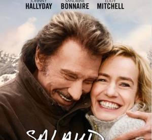 """Sandrine Bonnaire et Johnny Hallyday dans """"Salaud, on t'aime""""."""
