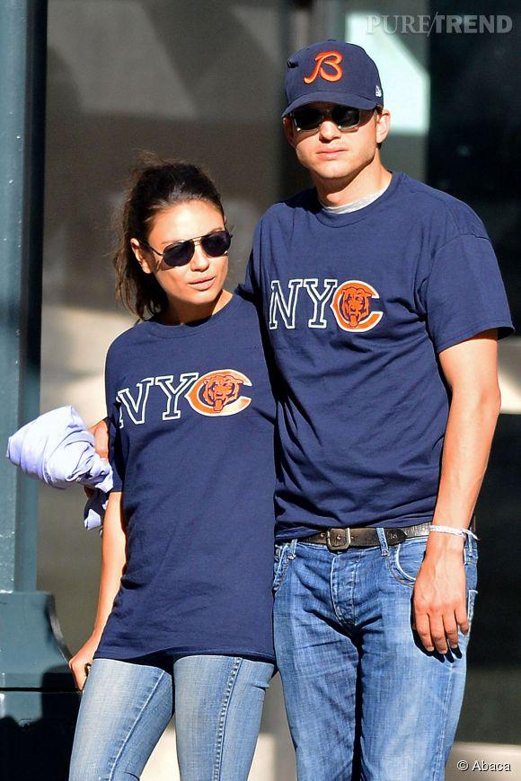 Mila Kunis et Ashton Kutcher attendent bien un enfant, l'actrice l'a confirmé.