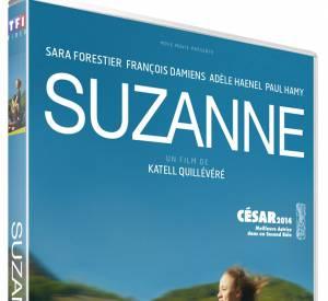 "Le DVD : ""Suzanne"" avec Sara Forestier. 19.99 €."