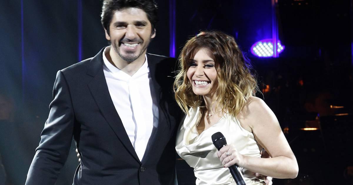 patrick fiori et julie zenatti en 2011 pour un concert hommage la comdie musicale notre dame de paris - Ariane Quatrefages Photo Mariage