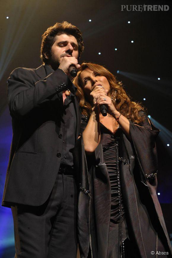 Patrick Fiori et Hélène Segara en 2008.