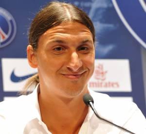 Zlatan Ibrahimovic qui parle en français, ça fait bien rire ses coéquipiers !