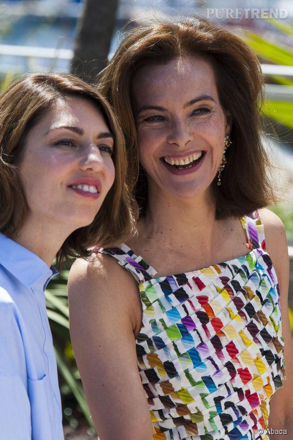 Sofia Coppola et Carole Bouquet, joli duo de jurés.