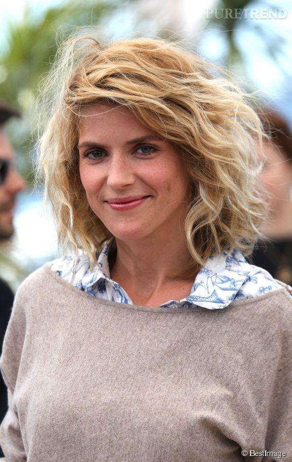 Alice Taglioni et son joli carré flou au Festival de Cannes 2013.